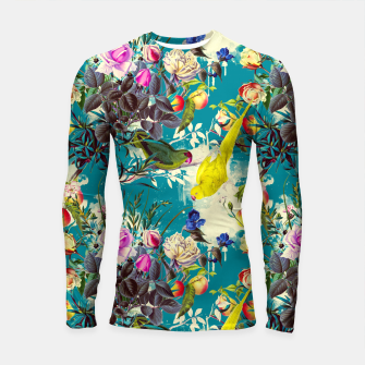 Tropical birds in the nature 010 Longsleeve rashguard miniature