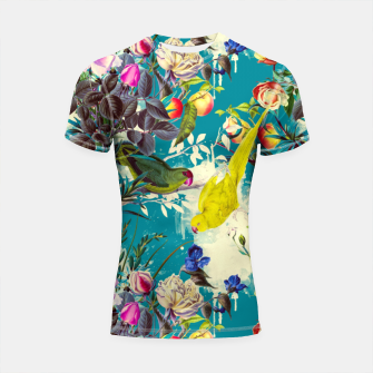 Tropical birds in the nature 010 Shortsleeve rashguard miniature