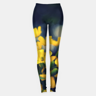 Imagen en miniatura de Yellow flowers Leggings, Live Heroes