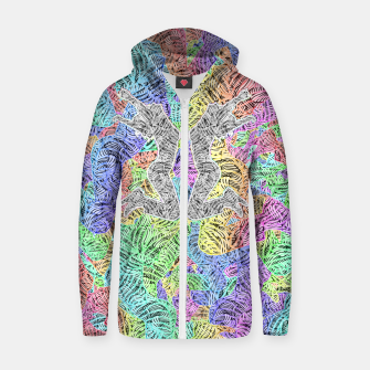 Thumbnail image of jump Cotton zip up hoodie, Live Heroes