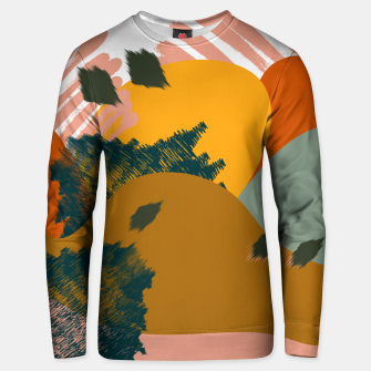 Thumbnail image of Earthy - Abstract Pattern Cotton sweater, Live Heroes