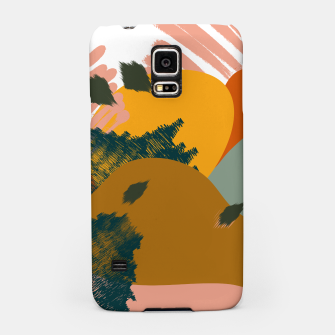 Thumbnail image of Earthy - Abstract Pattern Samsung Case, Live Heroes