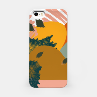 Miniaturka Earthy - Abstract Pattern iPhone Case, Live Heroes