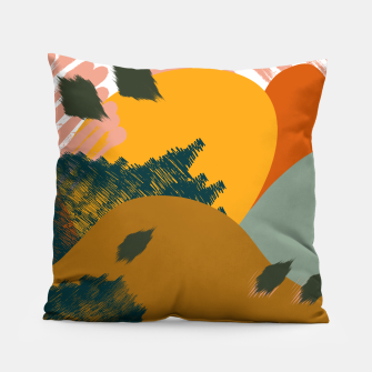 Miniaturka Earthy - Abstract Pattern Pillow, Live Heroes