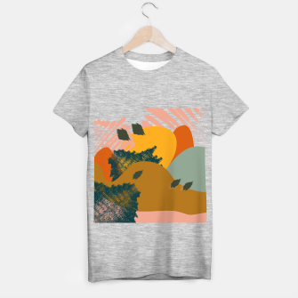 Miniaturka Earthy - Abstract Pattern T-shirt regular, Live Heroes