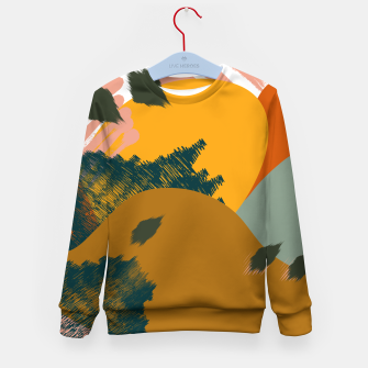 Miniaturka Earthy - Abstract Pattern Kid's sweater, Live Heroes