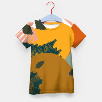 Miniaturka Earthy - Abstract Pattern Kid's t-shirt, Live Heroes