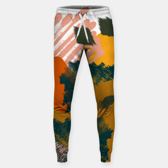 Miniaturka Earthy - Abstract Pattern Cotton sweatpants, Live Heroes