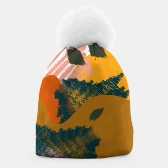 Miniaturka Earthy - Abstract Pattern Beanie, Live Heroes