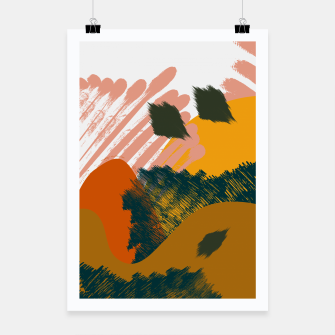 Miniaturka Earthy - Abstract Pattern Poster, Live Heroes