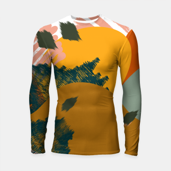 Miniaturka Earthy - Abstract Pattern Longsleeve rashguard , Live Heroes