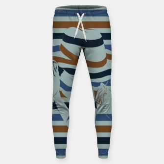 Thumbnail image of LOVE NOIR Cotton sweatpants, Live Heroes