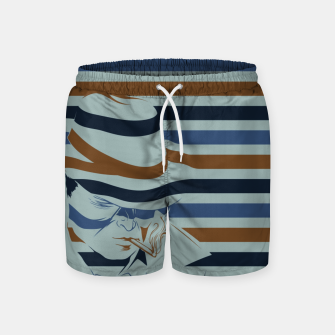 Thumbnail image of LOVE NOIR Swim Shorts, Live Heroes