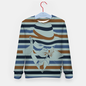 Thumbnail image of LOVE NOIR Kid's sweater, Live Heroes