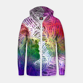 K Cotton zip up hoodie thumbnail image