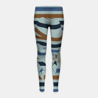 Thumbnail image of LOVE NOIR Girl's leggings, Live Heroes