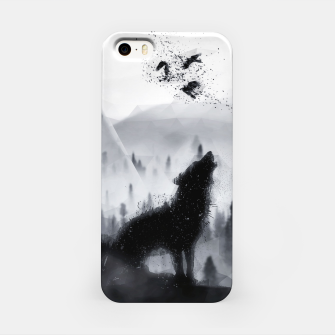 The Lone Wolf - LowPoly Style iPhone-Hülle miniature