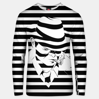 LOVE NOIR B&W Cotton sweater thumbnail image