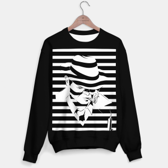 Thumbnail image of LOVE NOIR B&W Sweater regular, Live Heroes