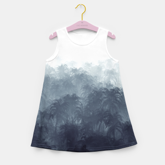 Jungle Haze Girl's summer dress Bild der Miniatur
