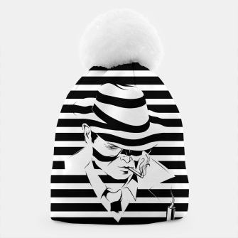 Thumbnail image of LOVE NOIR B&W Beanie, Live Heroes