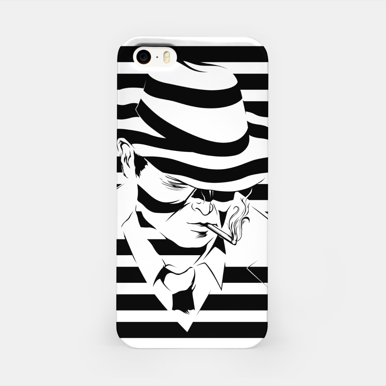 Image of LOVE NOIR B&W iPhone Case - Live Heroes