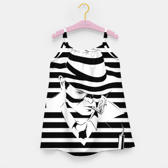 Thumbnail image of LOVE NOIR B&W Girl's dress, Live Heroes