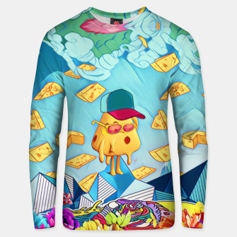 Miniature de image de Cheese Cotton sweater, Live Heroes