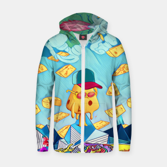 Cheese Cotton zip up hoodie thumbnail image