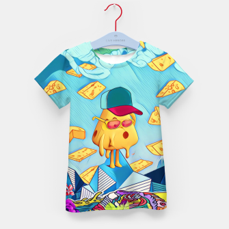 Thumbnail image of Cheese Kid's t-shirt, Live Heroes