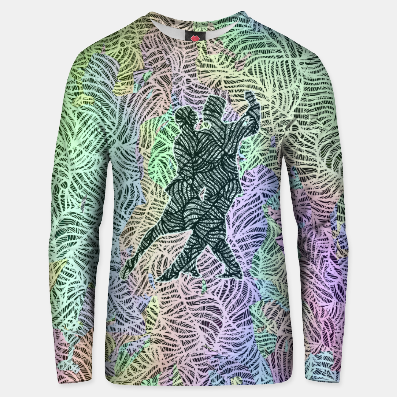 Image of Keep on dancing Cotton sweater - Live Heroes
