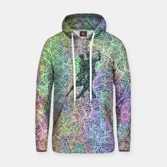Thumbnail image of Keep on dancing Cotton hoodie, Live Heroes