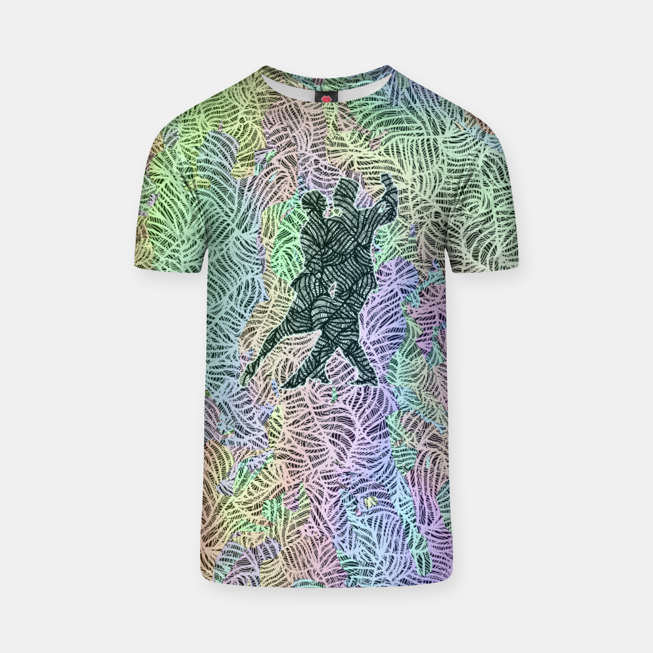 Image of Keep on dancing T-shirt - Live Heroes