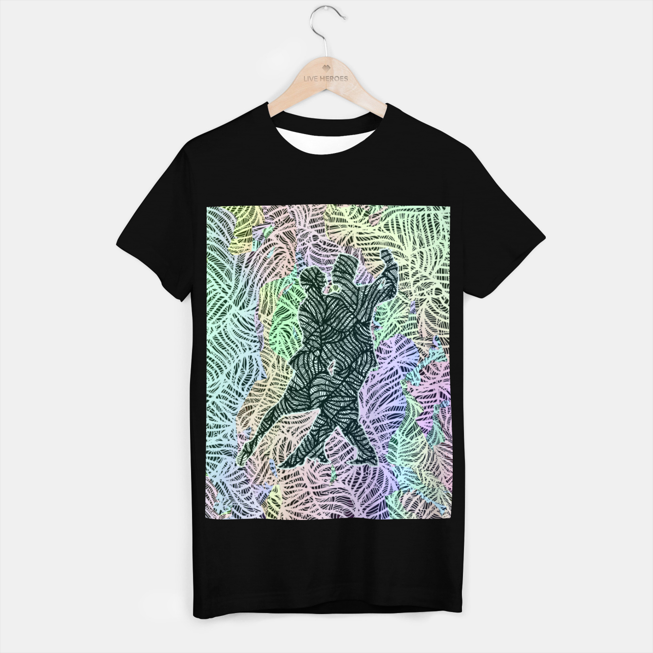 Image of Keep on dancing T-shirt regular - Live Heroes