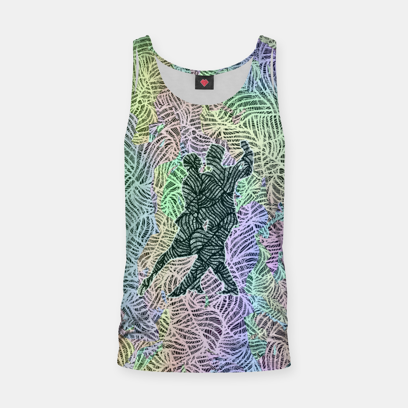 Image of Keep on dancing Tank Top - Live Heroes