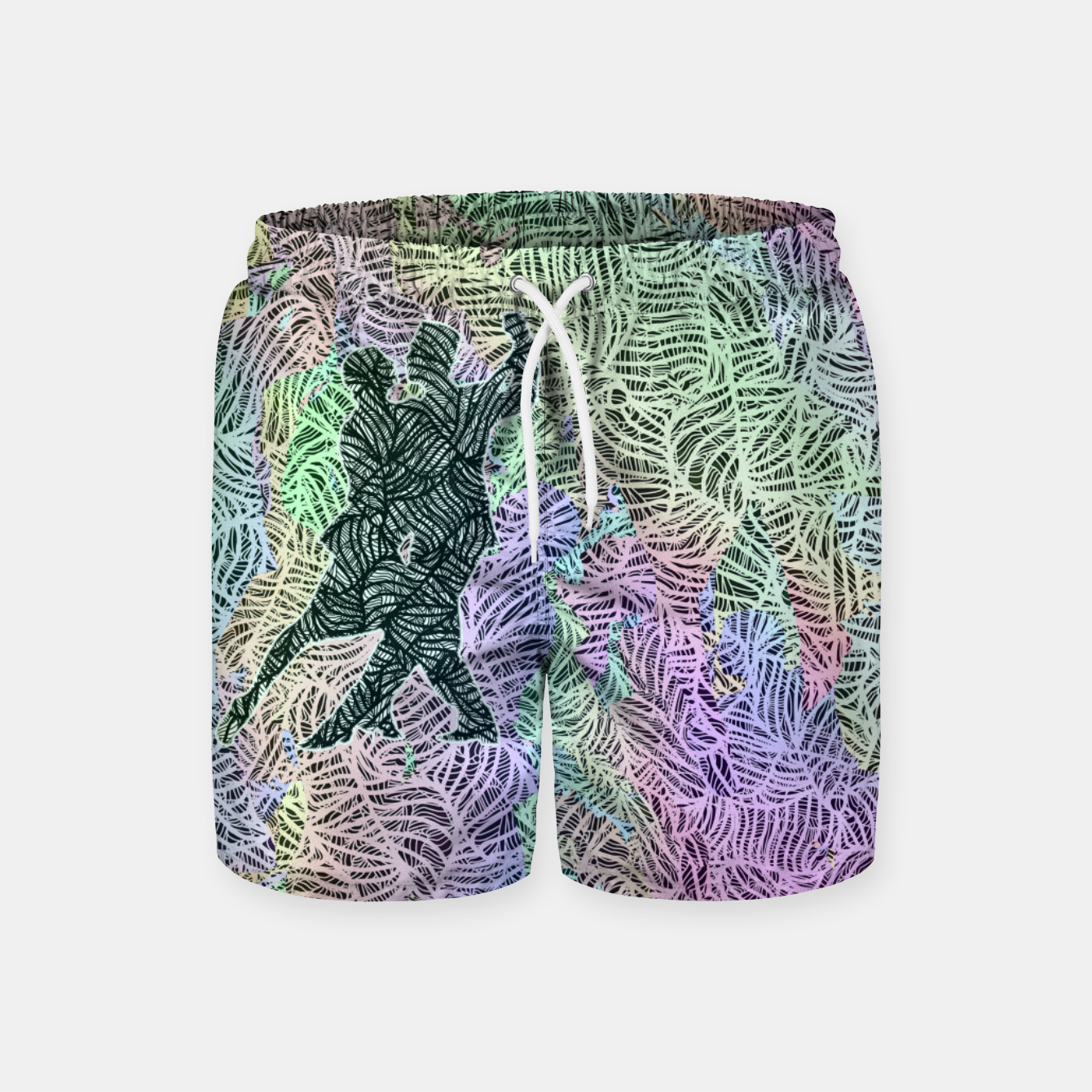 Image of Keep on dancing Swim Shorts - Live Heroes