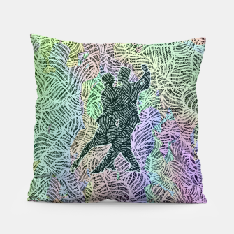 Thumbnail image of Keep on dancing Pillow, Live Heroes
