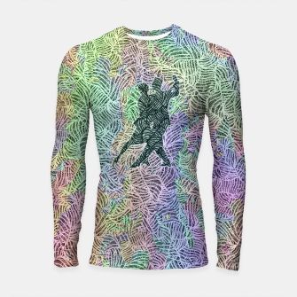 Thumbnail image of Keep on dancing Longsleeve rashguard , Live Heroes