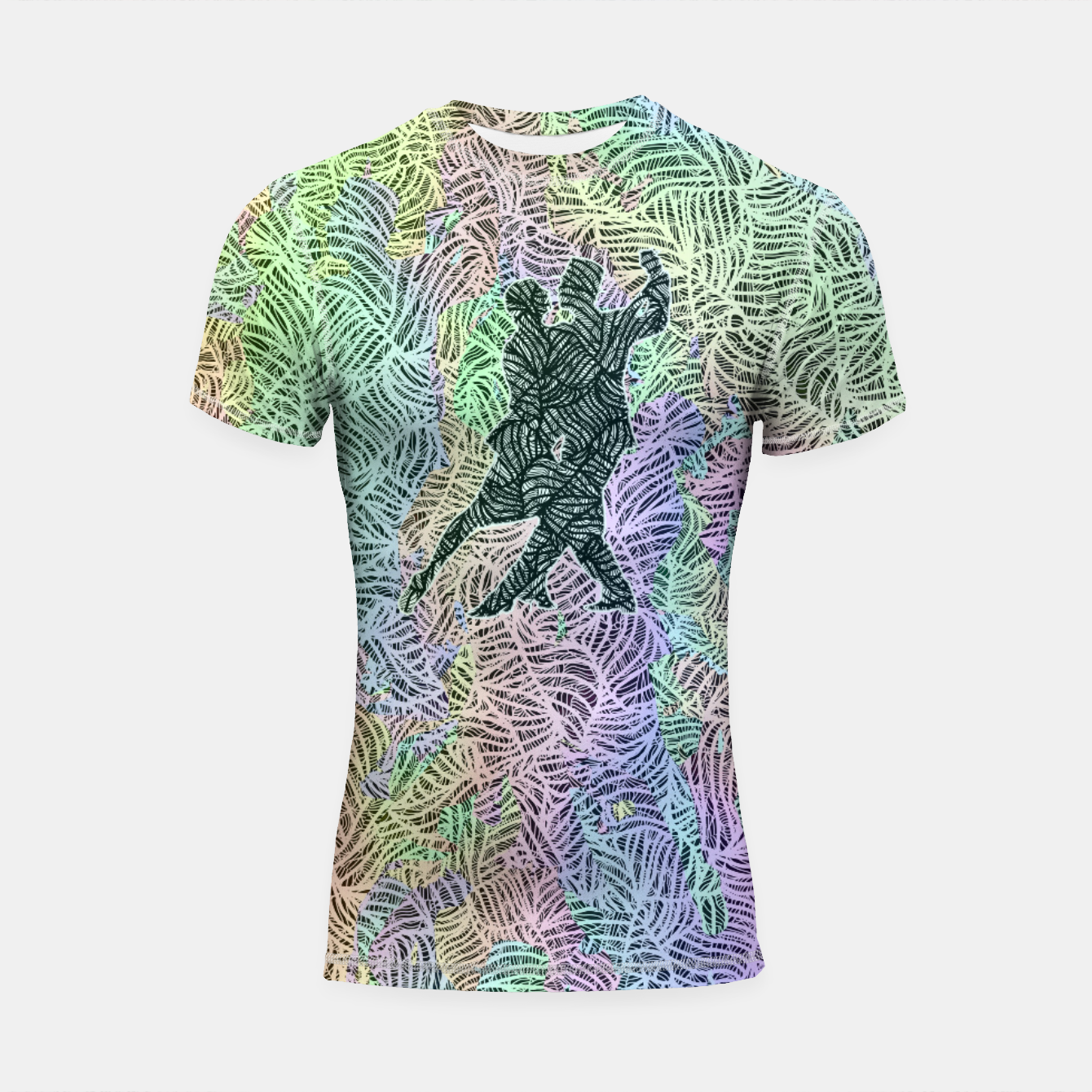 Image of Keep on dancing Shortsleeve rashguard - Live Heroes