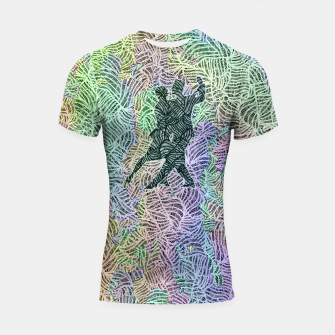 Keep on dancing Shortsleeve rashguard thumbnail image