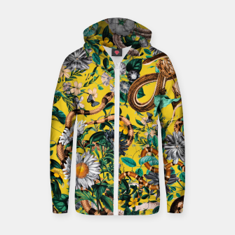 Miniatur Dangers in the Forest IV Cotton zip up hoodie, Live Heroes