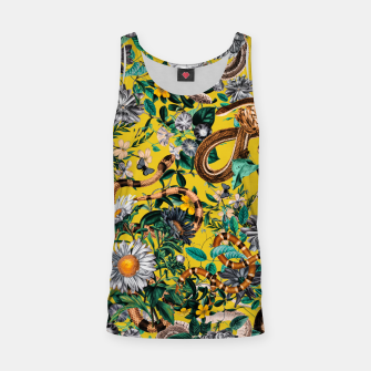 Miniatur Dangers in the Forest IV Tank Top, Live Heroes