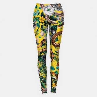 Miniatur Dangers in the Forest IV Leggings, Live Heroes