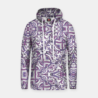 Thumbnail image of Colorful Intricate Geometric Tribal Pattern Cotton hoodie, Live Heroes