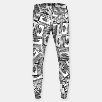 Thumbnail image of Tell Your Story Cotton sweatpants, Live Heroes