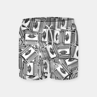 Thumbnail image of Tell Your Story Swim Shorts, Live Heroes
