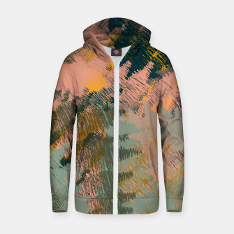 Miniaturka Abstract Pattern Cotton zip up hoodie, Live Heroes