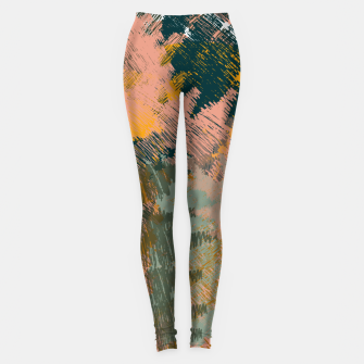 Miniaturka Abstract Pattern Leggings, Live Heroes