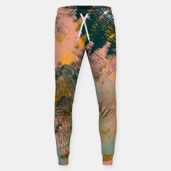 Miniaturka Abstract Pattern Cotton sweatpants, Live Heroes