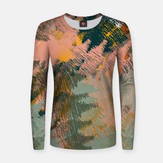 Miniaturka Abstract Pattern Woman cotton sweater, Live Heroes